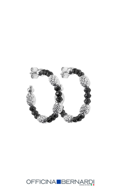 Officina Bernardi Gothic Mars Earrings 1759HBW25 product image