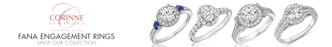 Fana Engagement Rings at Corinne Jewelers