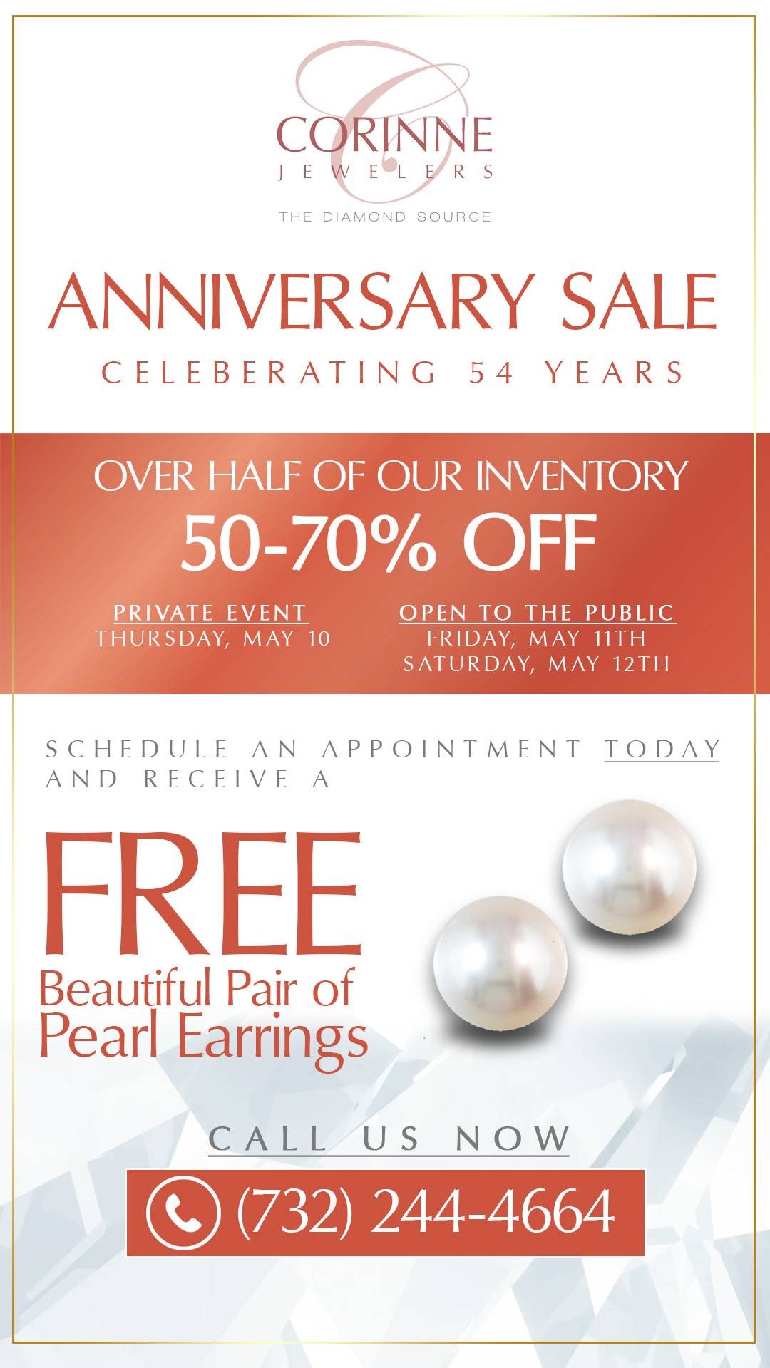 Anniversary Sale - Celebrating 54 Years