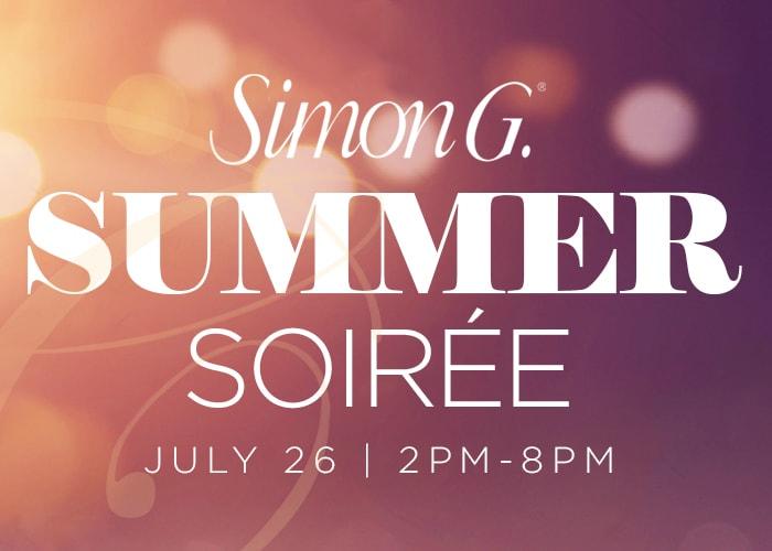 Summer Soiré - Simon G. Special Event